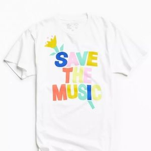 Urban Outfitters +VH1 Save The Music T-Shirt